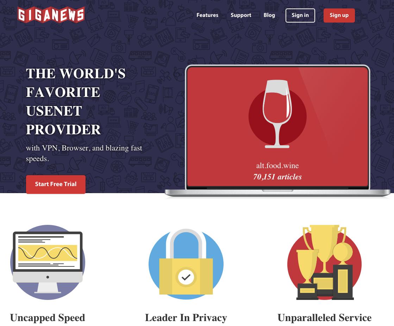 giganews usenet provider