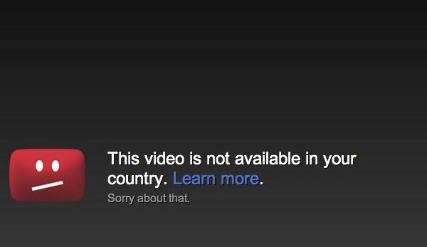 no youtube